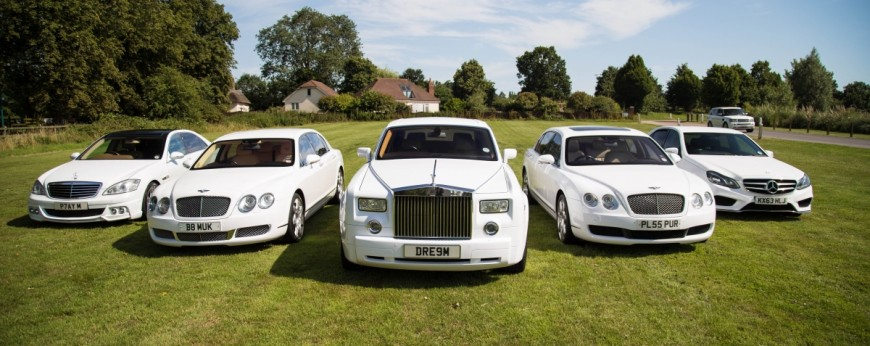 Wedding car surrey